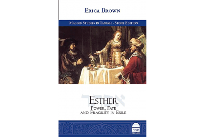 "Book cover for ""The Book of Esther: Power, Fate and Fragility in Exile"" by Erica Brown"